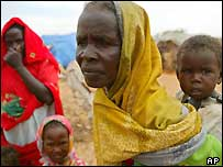 Refugees in Darfur, Sudan
