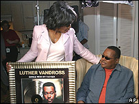 Luther Vandross with Oprah Winfrey