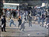 Riot in Karachi