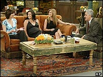 Friends stars on The Tonight Show
