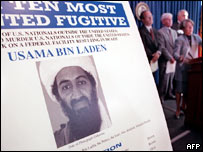 Poster of Osama Bin Laden