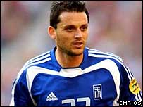 Lakis was part of Greece's triumphant Euro 2004 team
