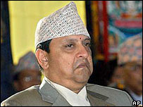 Nepal's King Gyanendra