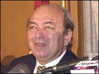Hamouda Ben Ammar, president of the Tunisia FA