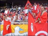 Tunisians fans