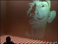 Salvador Dali projection