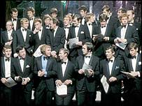 The England squad appeared on Top of the Pops in 1970