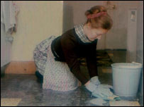image of housewife