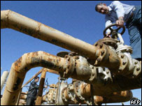 Iraqi oil pipeline