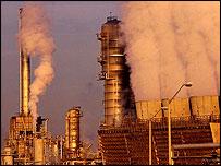Planta petrolera