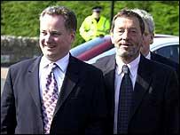 Jack McConnell and David Blunkett