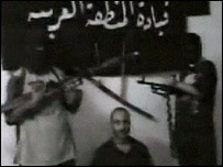 Las imágenes aparecieron en la cadena de televisión al-Jazeera