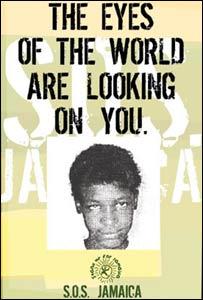 Poster of Janice Allen �SOS Jamaica