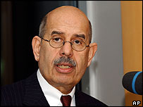 IAEA chief Mohamed ElBaradei