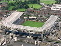 Croke Park in north Dublin