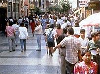 Lima street scene