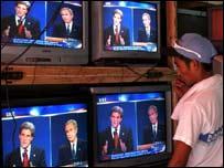 Televisación del debate Bush-Kerry