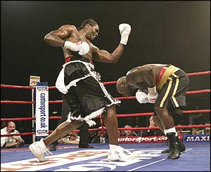 Audley Harrison and Julius Francis