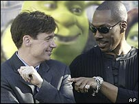 Mike Myers and Eddie Murphy