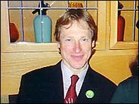 David Taylor, Green Party candidate 