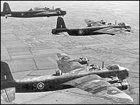 Image of Stirling bombers