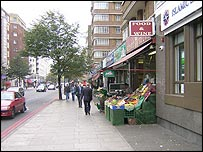 Edgware Road, central London