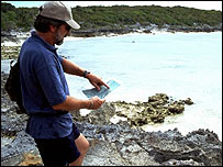 Marine archaeologist, Dr Donald Keith