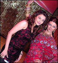 Aishwarya Rai and model