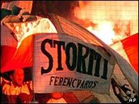 Ferencvaros fans