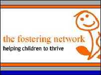 Foster Network sign