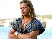 Brad Pitt in Troy