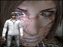 Screenshot from Silent Hill 4: The Room