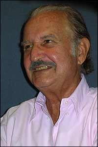 Carlos Fuentes. Foto José Baig.