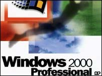 Box artwork for Windows 2000, AP