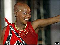 Brenda Fassie in September 2003