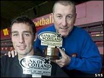 Terry Butcher and Scott McDonald