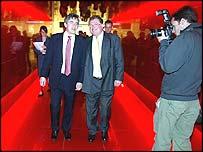 Gordon Brown and Digby Jones