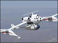 SpaceShipOne, Scaled Composites