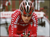 Italian rider Damiano Cunego