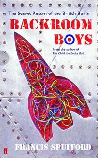 Front cover of Backroom Boys, Faber and Faber