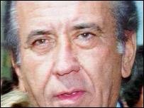 Carlos Andr�s P�rez, ex presidente de Venezuela