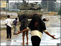 Campo de refugiados de Beit Hanoun, 2001