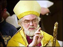 Rowan Williams, Archbishop of Canterbury