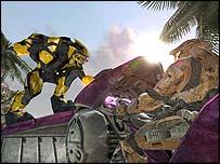 Screenshot of Halo 2