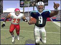Screenshot of Madden NFL