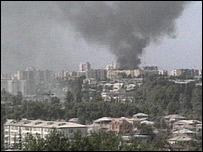 Сухуми в огне, 1993 год