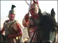 A scene from Alexander