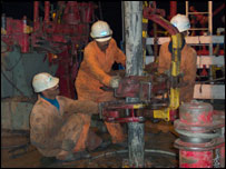 Cairn Energy staff at work in India