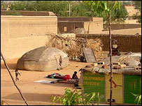 The Mali town of Gao