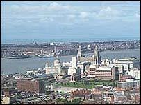 Liverpool skyline